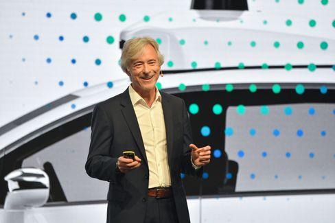 Hat beste Jobaussichten nach Rücktritt: Ex-Waymo-CEO John Krafcik (59) bei einem Auftritt auf der IAA 2019