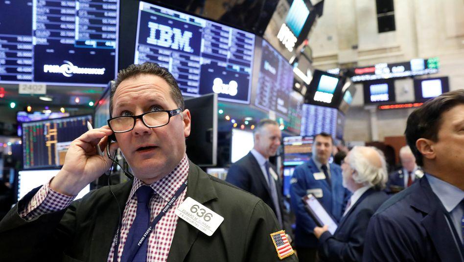 Aktienhändler in New York: Die Kurse steigen seit 2009 - so lange wie noch nie.