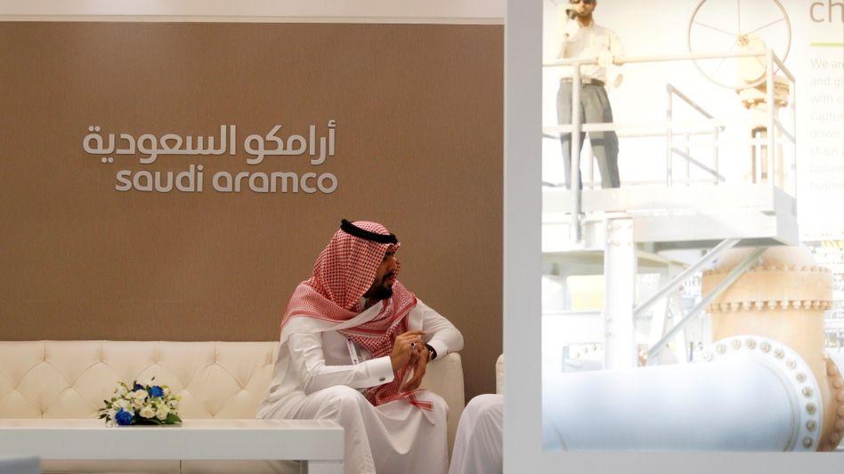 Saudi-Aramco-Mitarbeiter
