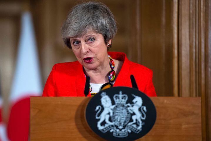 Theresa May lässt keinen Zweifel daran, auch bei einer Abstimmungsniederlage den mehrheitlichen Willen der Briten aus dem Jahr 2016 nach einem Verlassen der EU auch umzusetzen