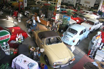 Automobile Preziosen: Ein Karmann Ghia Cabrio aus Kolles Sammlung