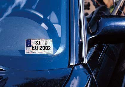 Infineon: Autokennzeichen mit Speicherkraft