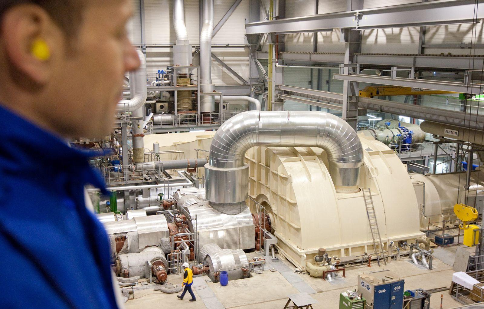 Gasturbine/ Gaskraftwerk