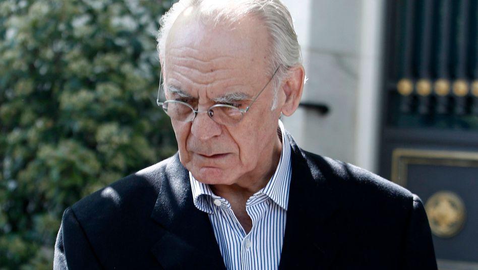 Der frühere griechische Verteidigungsminister Akis Tsohatzopoulos: Korruptionsermittlungen erfassen die deutsche Ex-Schwägerin des Ministers