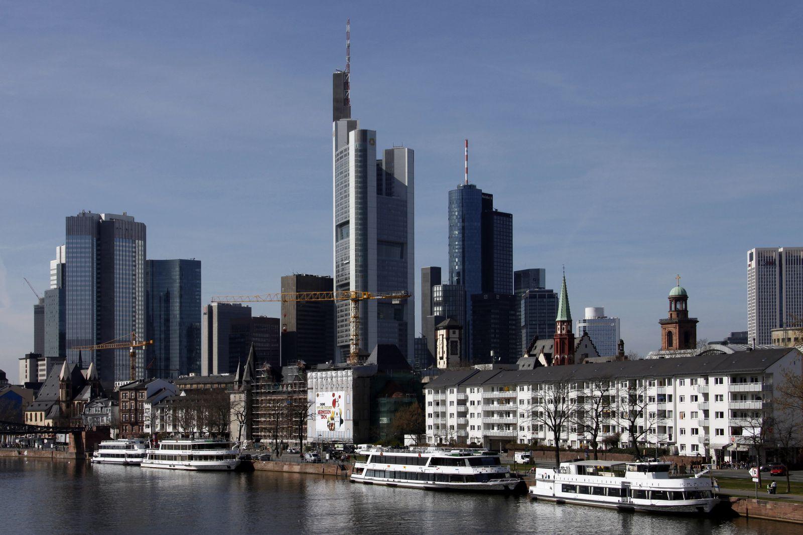 NICHT VERWENDEN skyline frankfurt