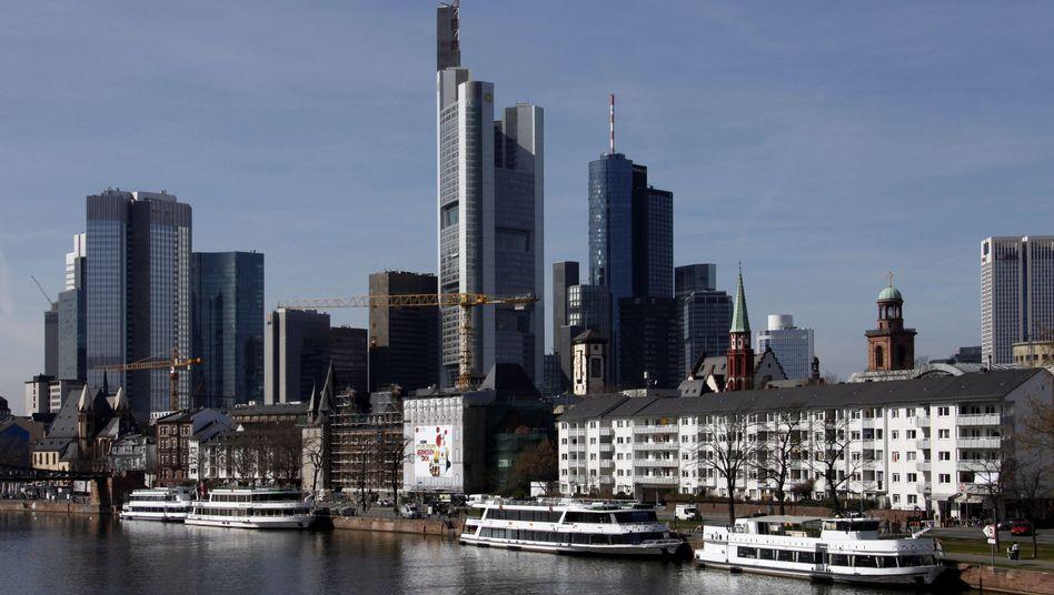 Bankenviertel Frankfurt: Finanzwerte werden eine harte Zeit haben, sagen Experten