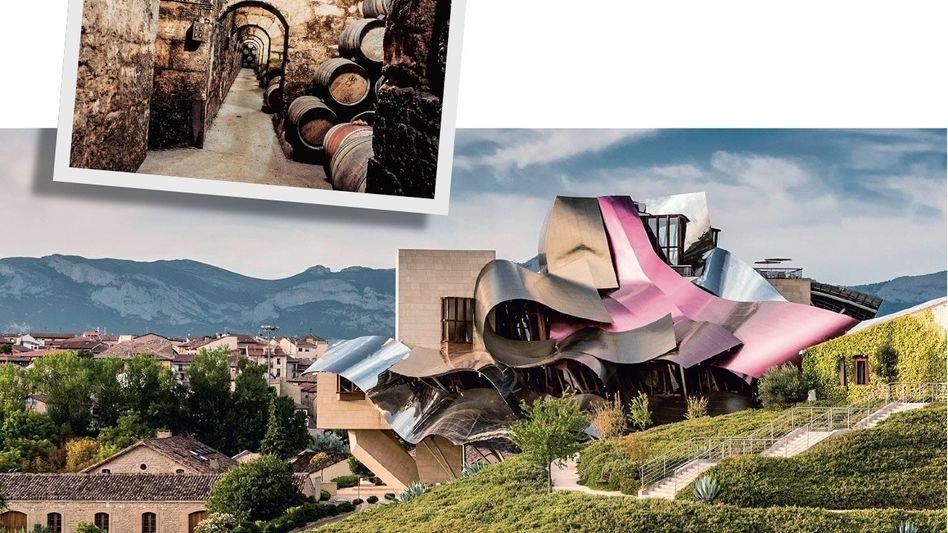 """WEIN-TRIP Die Einheimischen nennen den Gehry-Bau nur """"La Cosa"""", das Ding"""
