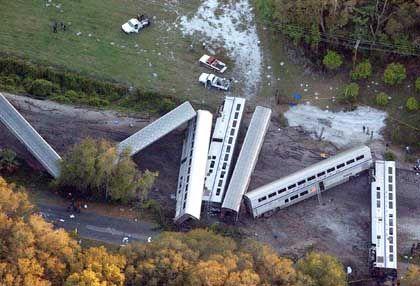 Zugunglück in Florida: Veraltete Strecken, hohes Risiko