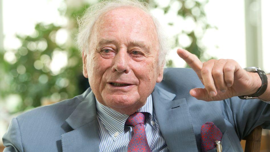 Lässt auf seine Vertriebsleute nichts kommen: Schraubenunternehmer und Multimilliardär Reinhold Würth.