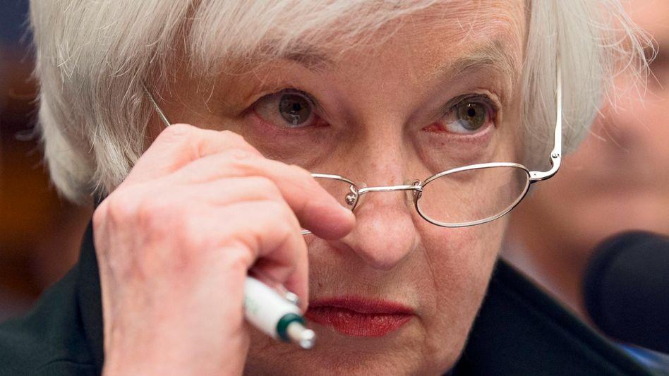 Fed-Chefin Janet Yellen: Nur nichts überstürzen