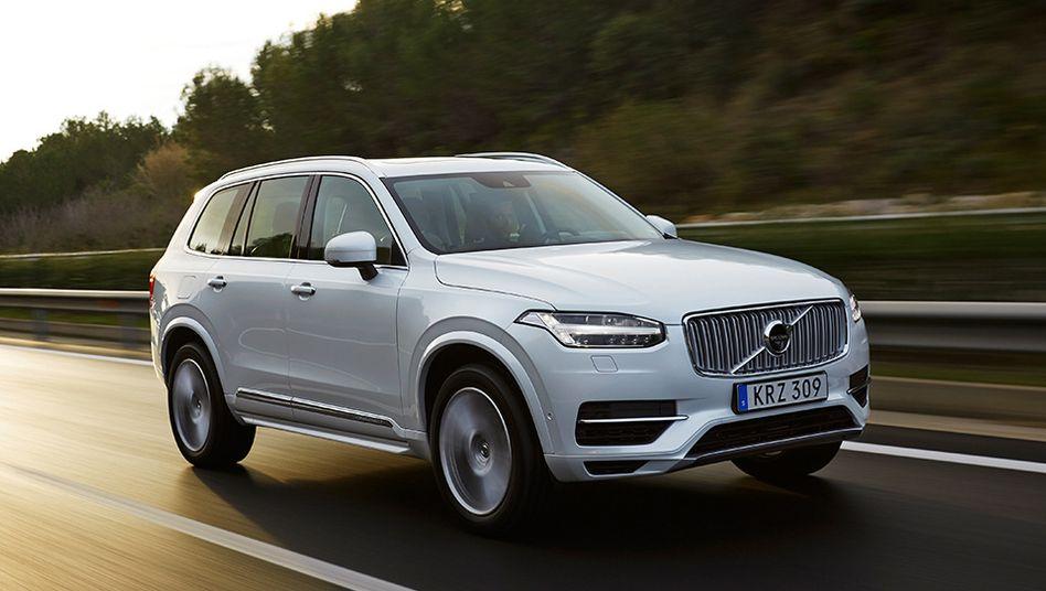 Volvo XC90: Elfmal mehr Abgase als erlaubt