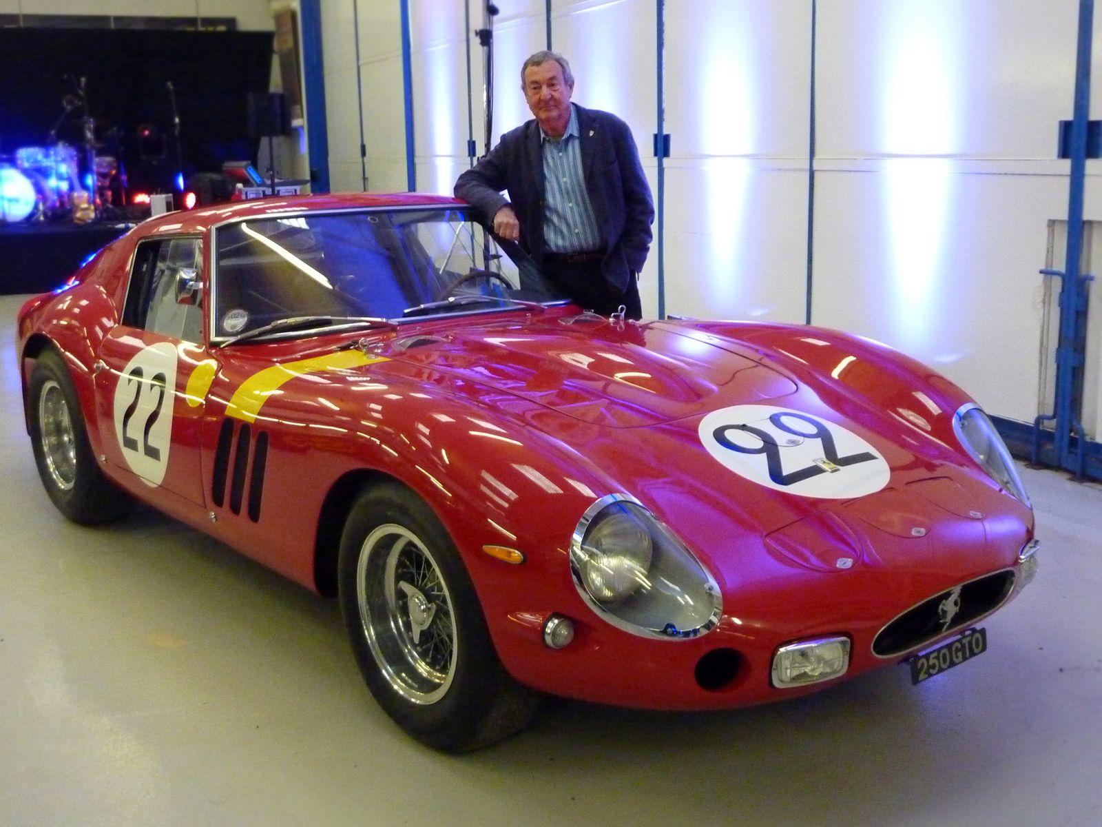 Nick Mason mit Ferrari 250 GTO
