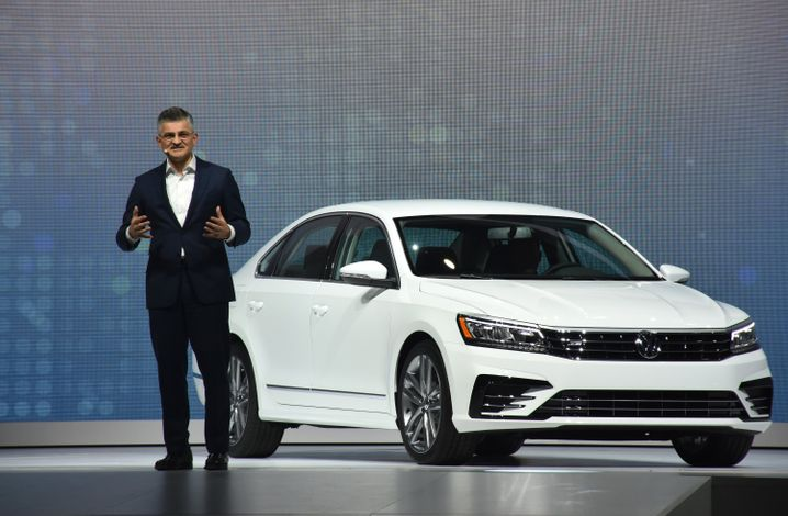 US-Chef Horn: Volkswagen trennt sich von dem Manager