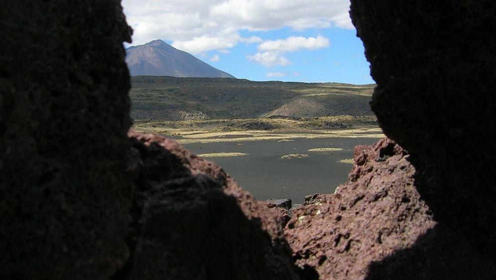Argentinien: Die schwarze Wüste in den Anden