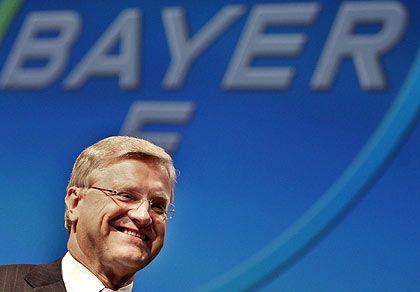 Guter Dinge: Bayer-Chef Wenning wird Ende Februar wohl ein Rekordergebnis für das Jahr 2007 präsentieren.