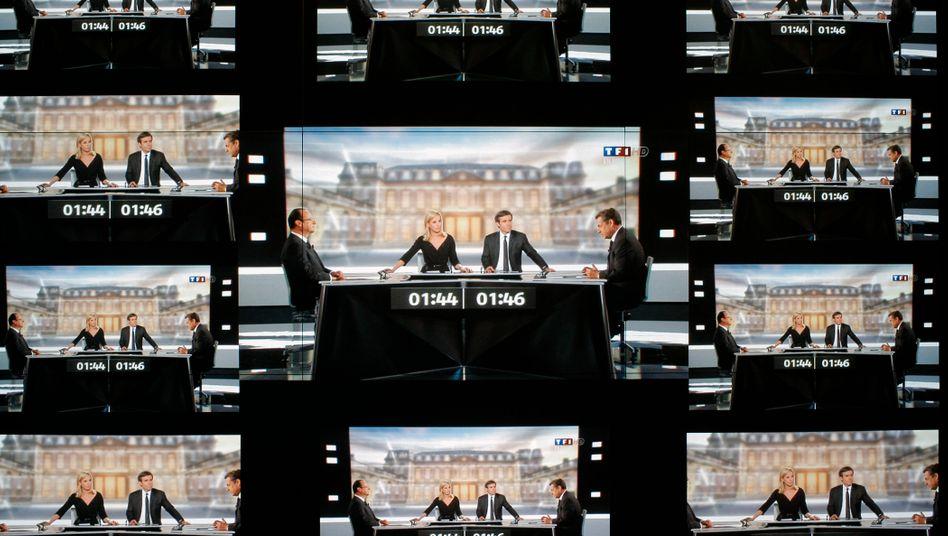 Beherrschendes Thema auch an der Börse: Wer gewinnt die Wahl in Frankreich?