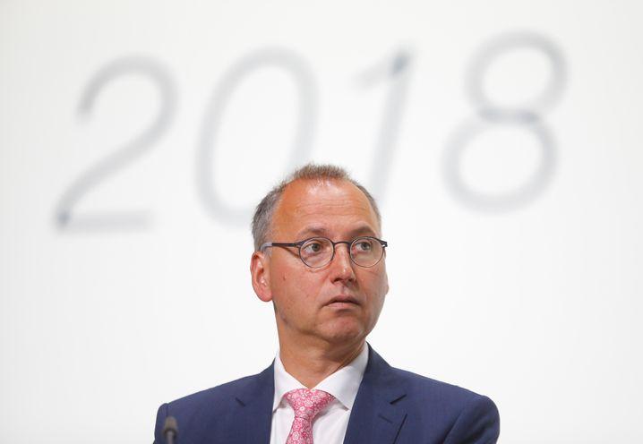 Glücklos: Bayer-Chef Werner Baumann.