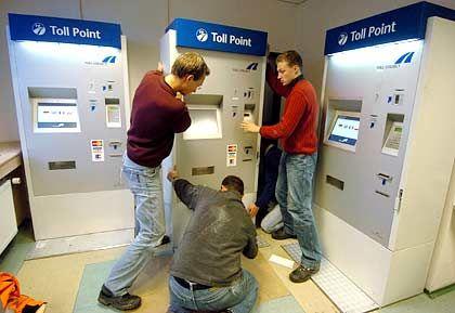 Maut-Terminals: Am besten schon einige Tage vorher bezahlen