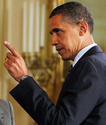 Verschärfte Kontrolle: US-Präsident Obama