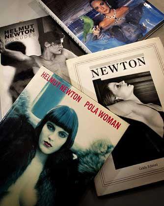 Lebenswerk:Die Fotografien Newtons erschienen in zahlreichen Editionen