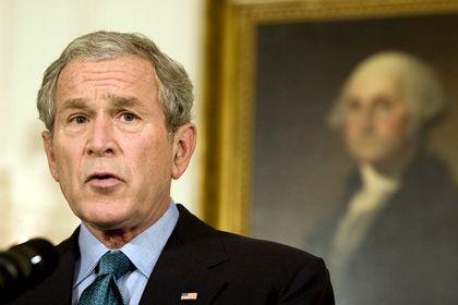 """""""Wir kommen zusammen hier raus"""": US-Präsident Bush wird in wenigen Monaten aus dem Weißen Haus rauskommen"""