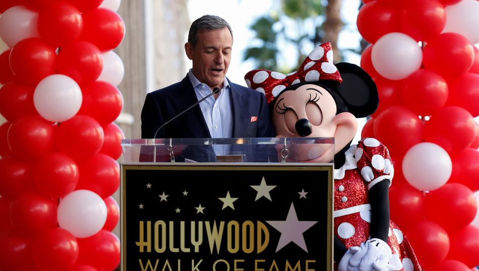 Disney-Chef Bob Iger (links)