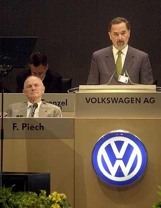 Bernd Pischetsrieder auf der heutigen Hauptversammlung