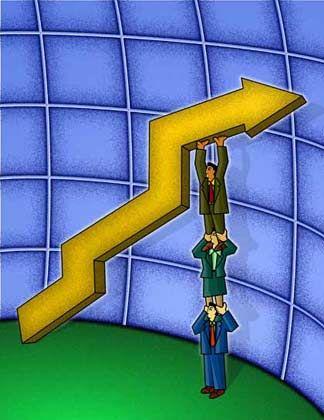 Gehälter: Es gibt weniger Geld - außer für risikobereite Topleute