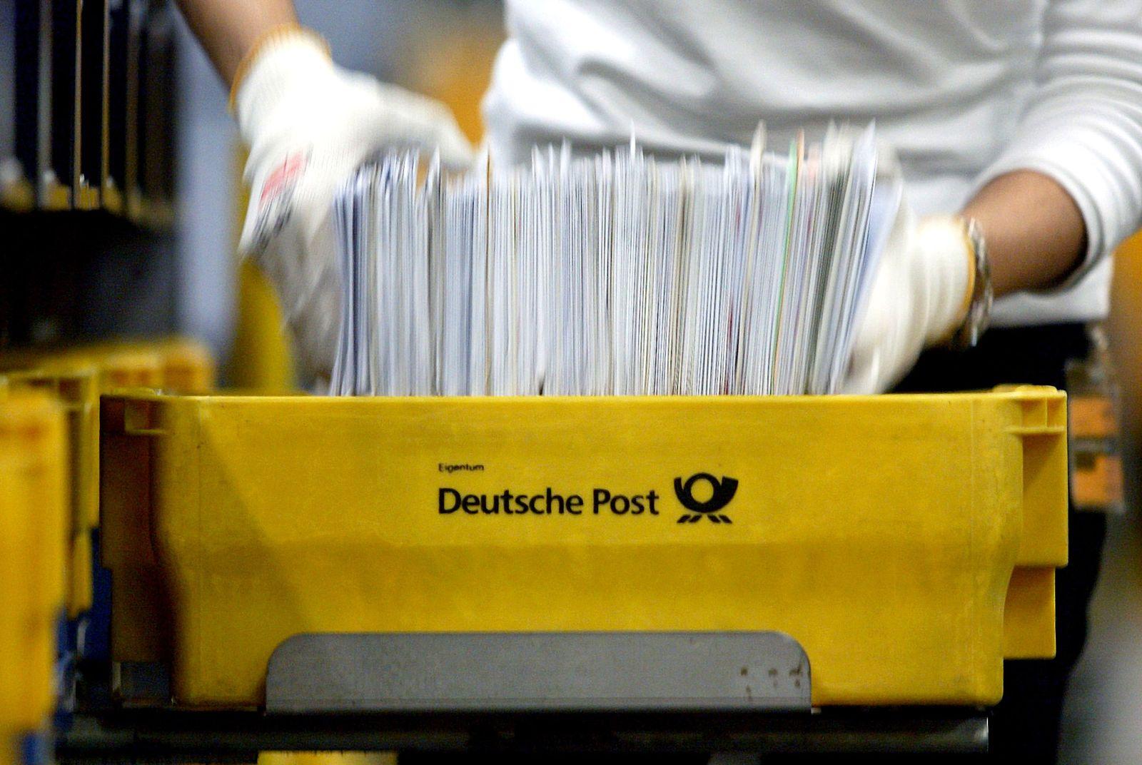 Deutsche Post/ Porto