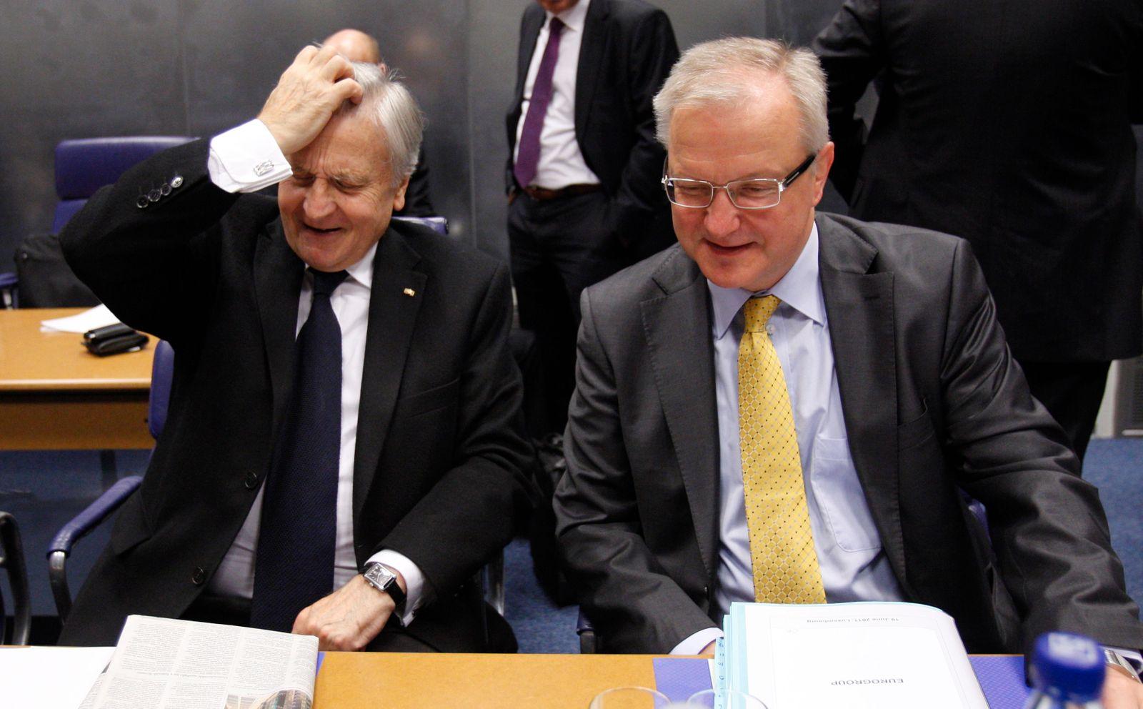 Jean-Claude Trichet/ Olli Rehn