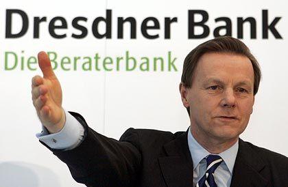 Bleibt bis 2012: Dresdner-Bank-Chef Walter