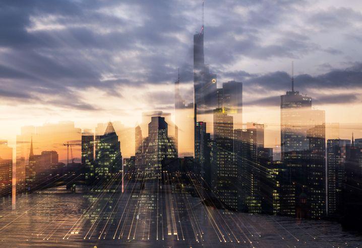Verschwommenes Frankfurt: Die Zahl der Topbanker nahm offenbar ab