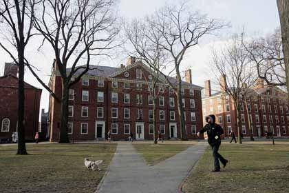 Vorbild Harvard: Asiatische Hochschulen streben an, 2010 in derselben Liga zu spielen wie die US-Eliteunis Harvard (im Bild), Stanford, Yale oder Princeton.