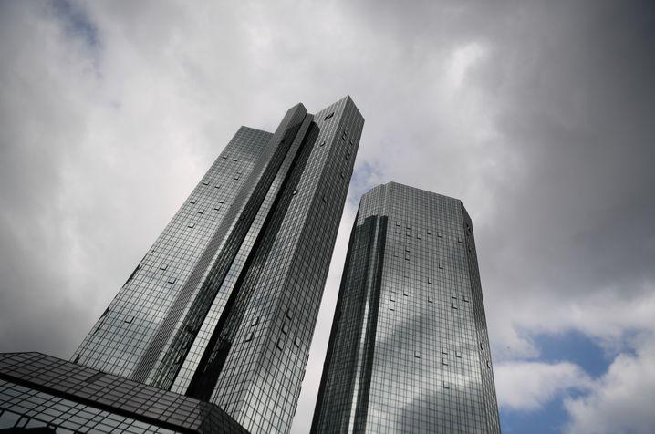 """Deutsche Bank in Frankfurt: """"Natürlich wird auch in Deutschland eine substanzielle Zahl an Stellen wegfallen."""""""