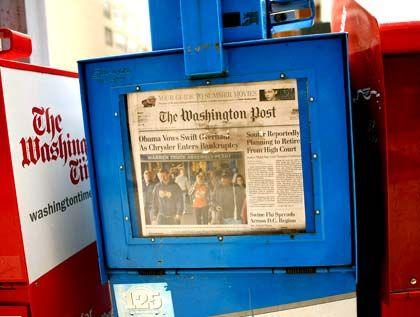 """Hauptstadtzeitung: Die als konservativ geltende """"Washington Post"""" hat ihre Stärke im Politikressort"""
