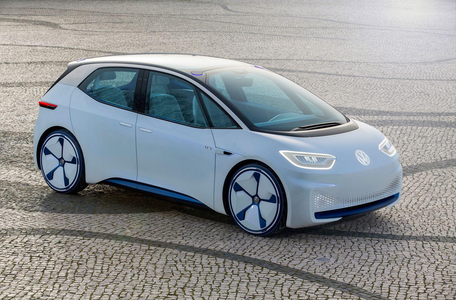 ! SPERRFRIST BIS 16.12.18, 00:01 UHR ! EINMALIGE VERWENDUNG VW ID/ Volkswagen/ Golf/ Elektro-Auto