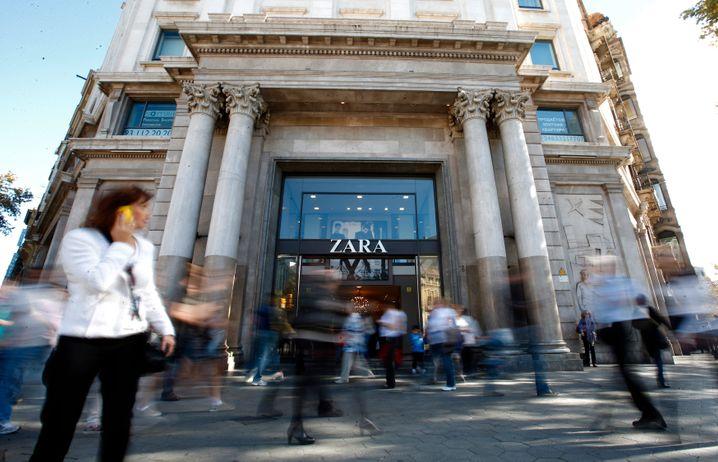 Zara-Shop in Barcelona