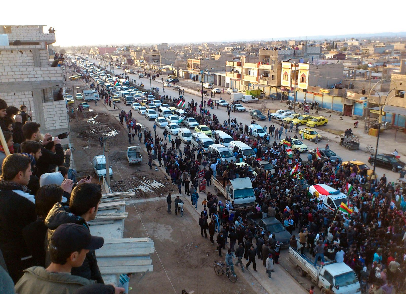 Unruhen Syrien