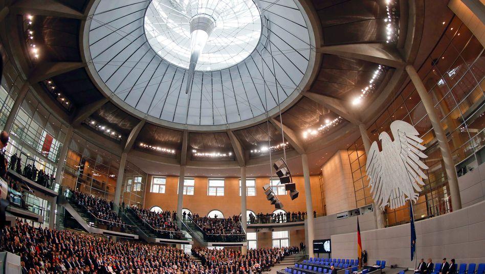 Macht vielleicht zu viel Eindruck: Bundestag