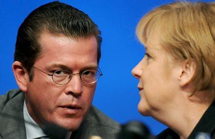 Rascher Aufstieg: CSU-Generalsekretär Karl-Theodor zu Guttenberg soll die Nachfolge von Wirtschaftsminister Michael Glos antreten