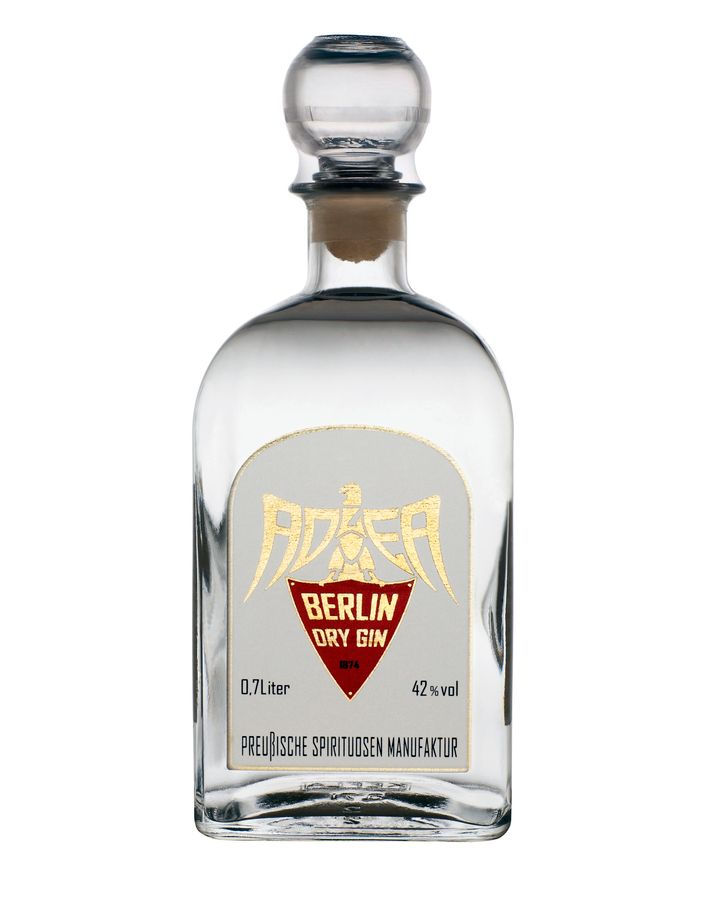 Neu belebte Marke: Adler Dry Gin aus der Preußischen Spirituosen Manufaktur