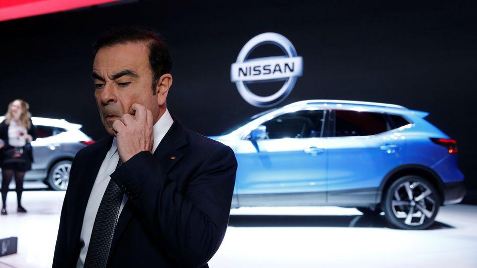 Carlos Ghosn ist erwaltungsratsvorsitzender bei Nissan