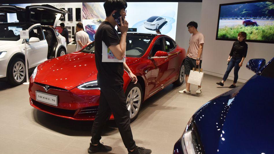 Tesla-Showroom: Verkauft wird künftig nur noch im Internet