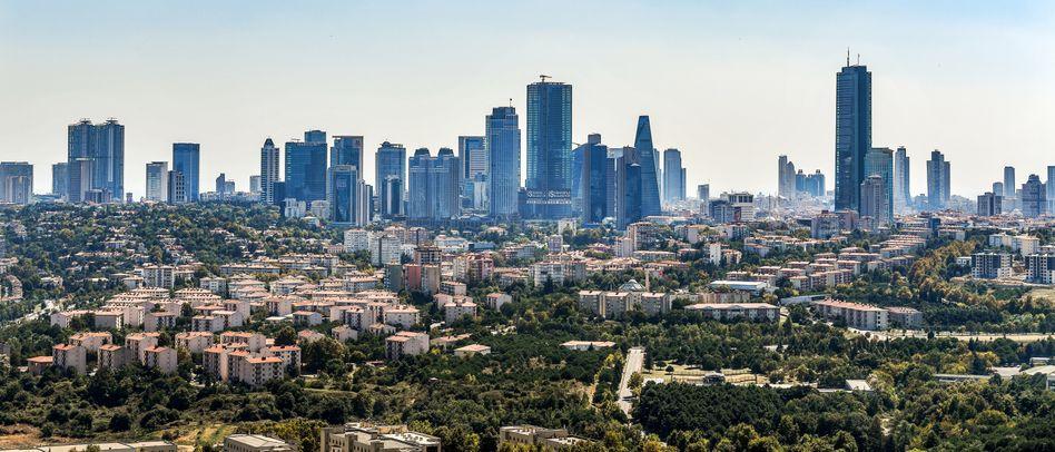 Skyline von Istanbul: Das türkische Bruttoinlandsprodukt ist im zweiten Quartal um 1,2 Prozent gewachsen