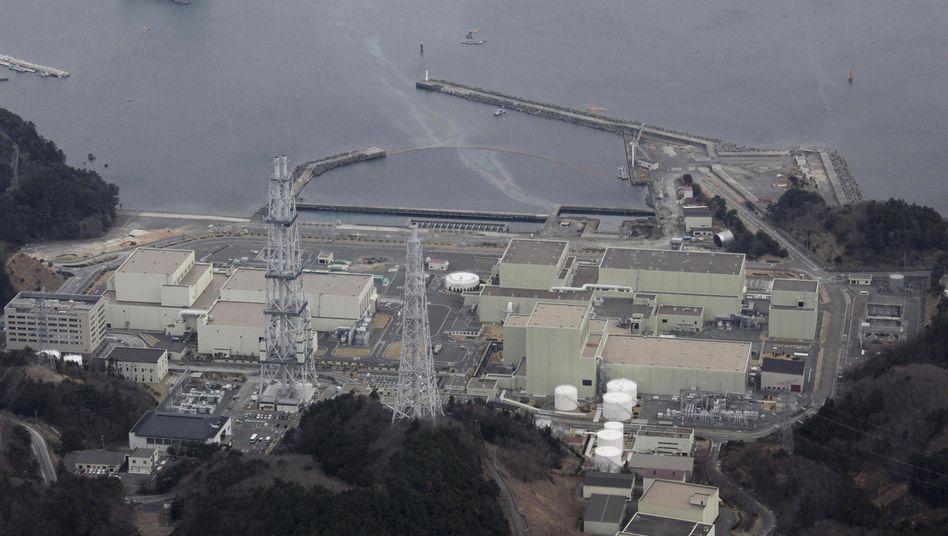 Kraftwerk im japanischen Onagawa: Das neue Beben hat dort angeblich leichte Schäden verursacht