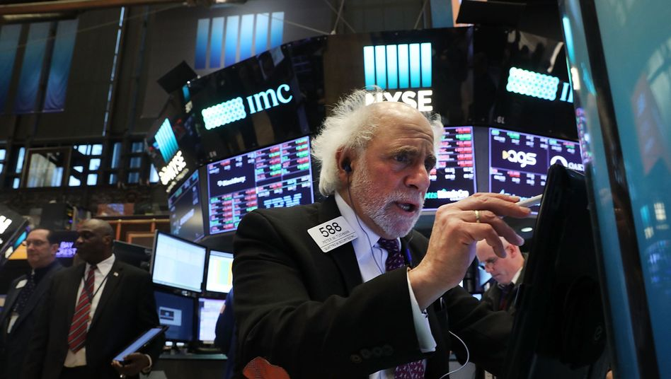 Händler an der Wall Street: Die US-Börse lief in den vergangenen Jahren besser als die europäische.