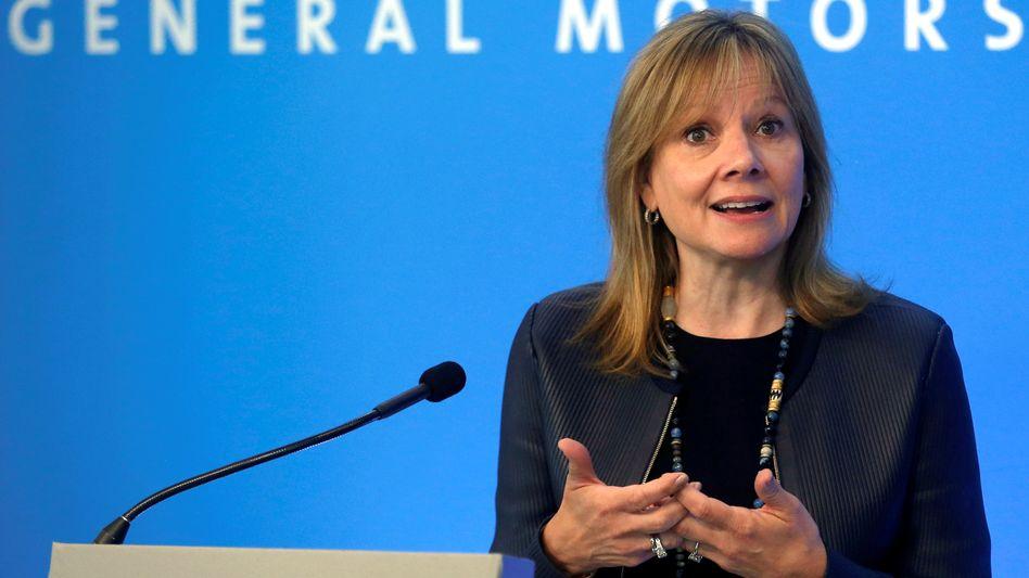 GM-Chefin Mary Barra: Tiefgreifender Konzernumbau nötig - bis zu 5 Werke könnten geschlossen werden