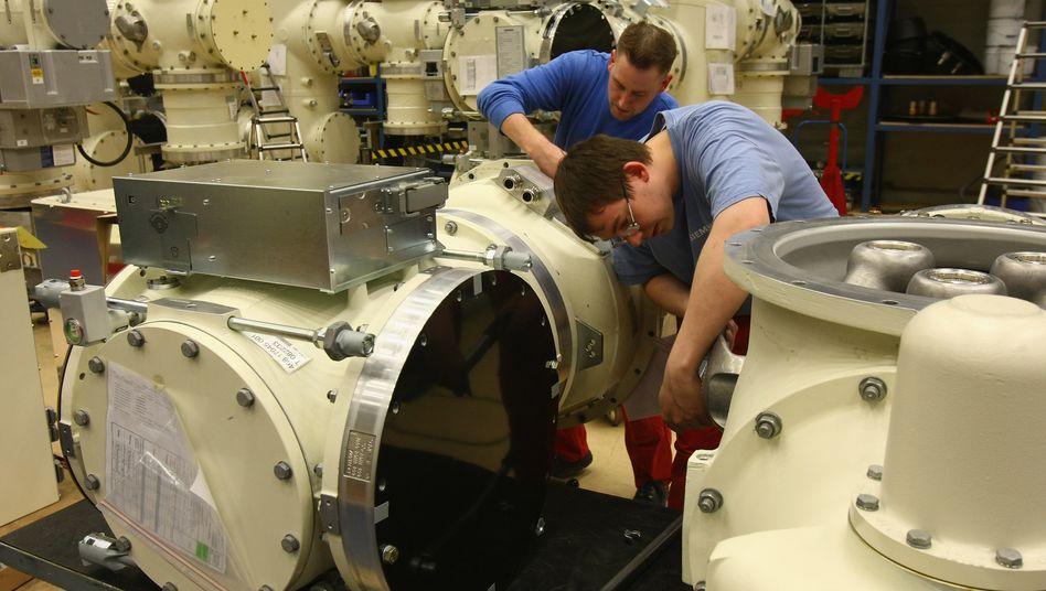 Deutscher Maschinenbau: In der ersten Jahreshälfte hohe Exporttätigkeit