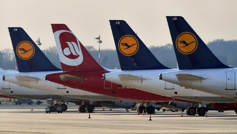 Die Lufthanse wird sich wohl einen Großteil von Air Berlin einverleiben