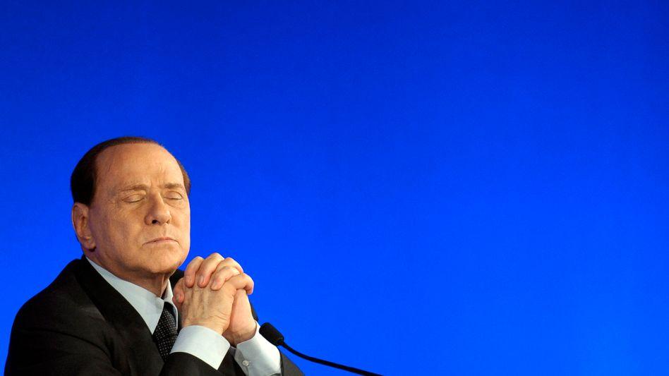 """Endspiel in Rom: Gerüchte um einen baldigen Rücktritt des """"Cavaliere"""" sorgten am Montag zeitweise für Aufschwung an den internationalen Finanzmärkten"""